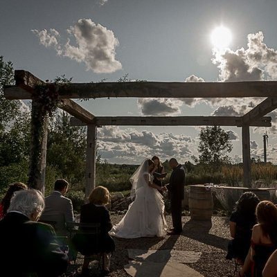 Adamo Estate Wedding Ceremony