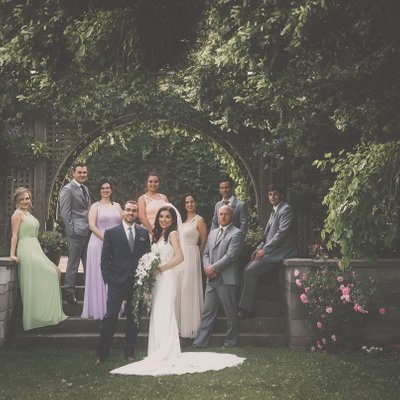 Caledon Country Club Wedding Party Photo