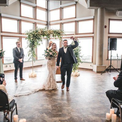 Southshore Community Centre Wedding Ceremony Photos