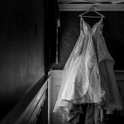 Creative Wedding Dress Photo:  Prince of Wales Photograph