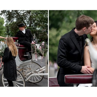 Horse Carriage at Prince of Wales Niagara Wedding