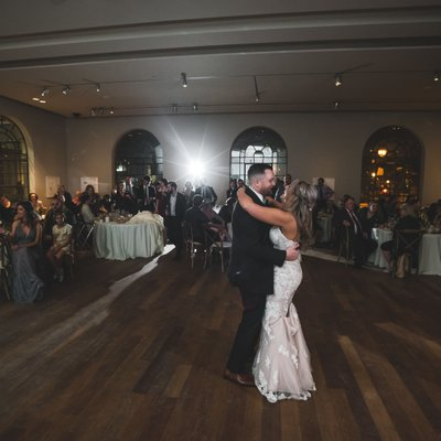 Maclaren Art Centre Wedding First Dance