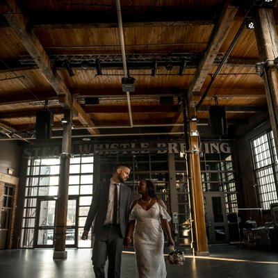 Steam Whistle Brewing Wedding Photographer