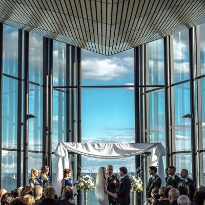 Spencer's at the Waterfront Ceremony Photos