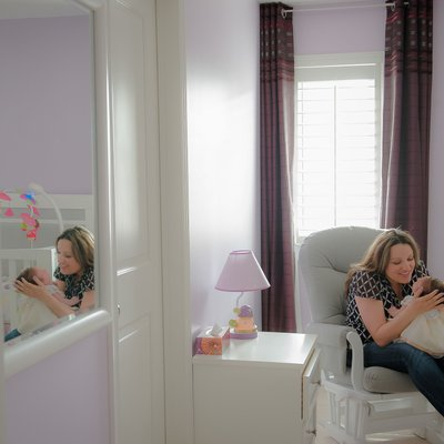 Documentary Baby in Home:  Caledon East Photographre