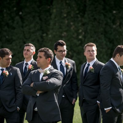 Groom Preparations:  The Manor Wedding Photographer