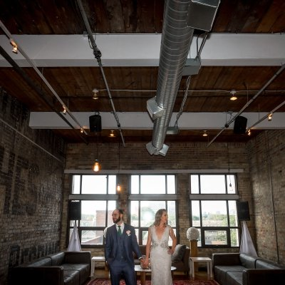 The Burroughes Building Wedding Portrait Locations