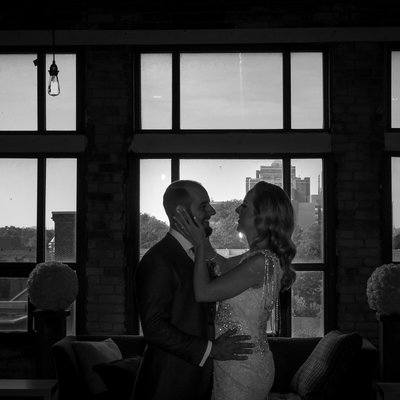 Burroughes Building Wedding Silhouette