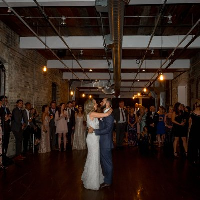 First Dance:  The Burroughes Building