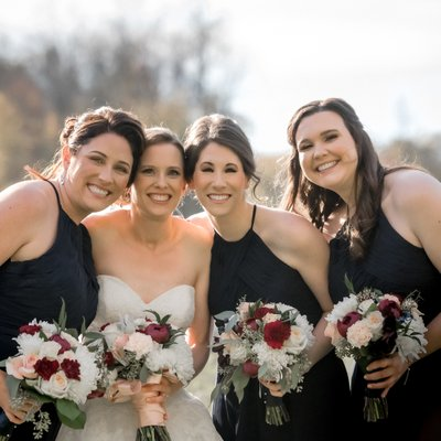 Bridesmaid Photos:  Silver Lakes Golf Wedding