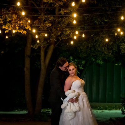 Night Photo:  Kortright Centre for Conservation Wedding
