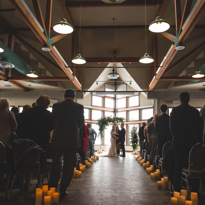 Candle Light Ceremony:  Southshore Community Wedding
