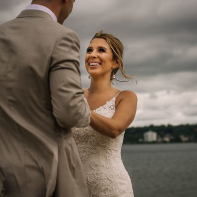 Bride Groom Portrait:  Southshore Community Wedding