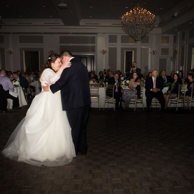 First Dance:  Crystal Grand Banquet Hall Wedding