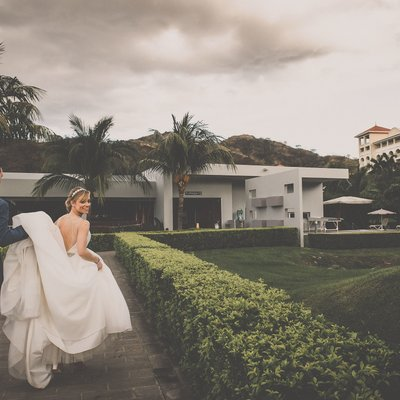 Unposed Portrait:  Costa Rica Wedding Photographer