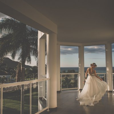 Bridal Portrait at Riu Palace Wedding