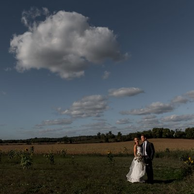 Barrie Country Club Wedding Portraits