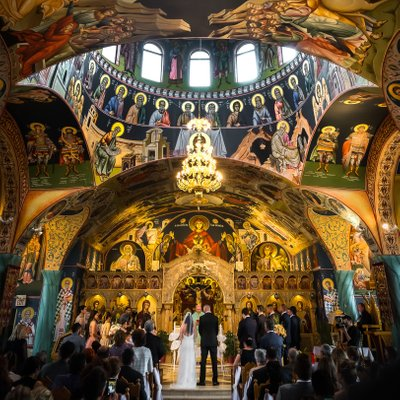 Greek Church Wedding Ceremony in Toronto