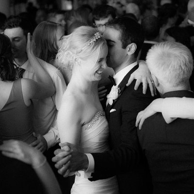 Wedding Couple Dancing:  Omni King Edward Photographer