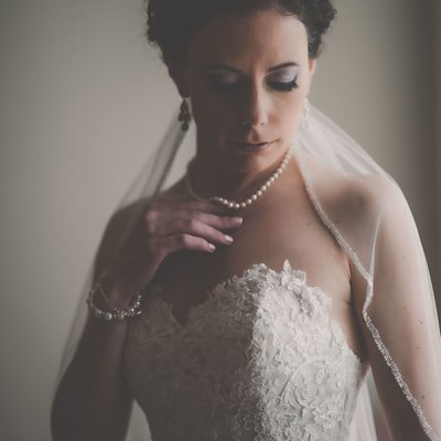 Bride Portrait:  Mexico Destination Wedding Photographer