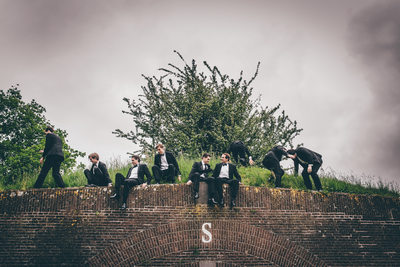 Groomsmen Photos in Amsterdam