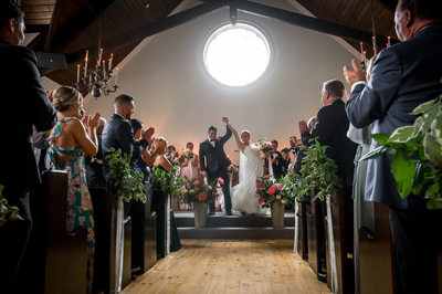 The Doctor's House Wedding Photography of Ceremony