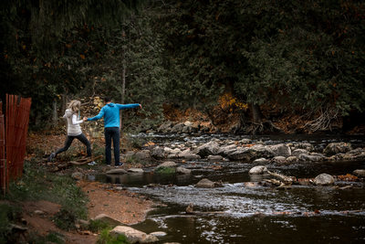 Caledon Engagement Photographer at Belfountain Park