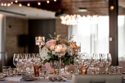 Village Loft Venue with Wedding Decor