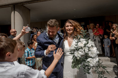 Ceremony photos at greek weddings