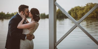 Living Water Resort and Spa Wedding Portrait