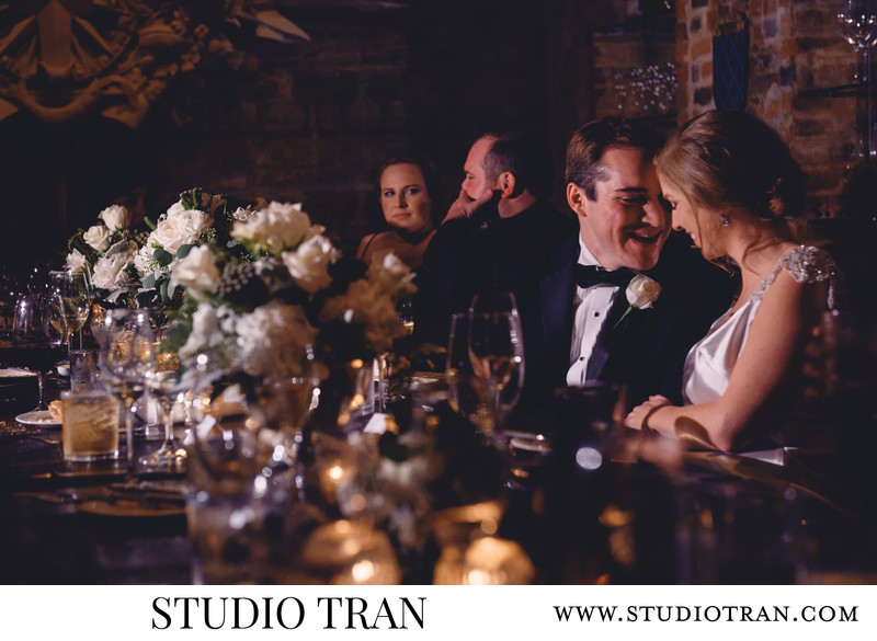 Brennans Restaurant Wine Room Wedding Photographer
