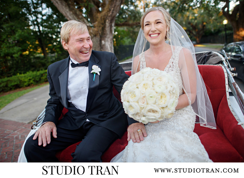 New Orleans Carriage Wedding Photographer