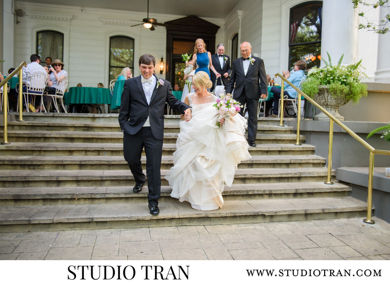 The Columns Hotel Wedding Photographer