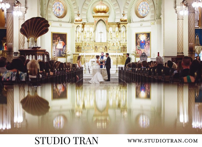Immaculate Conception Church Wedding Photographer
