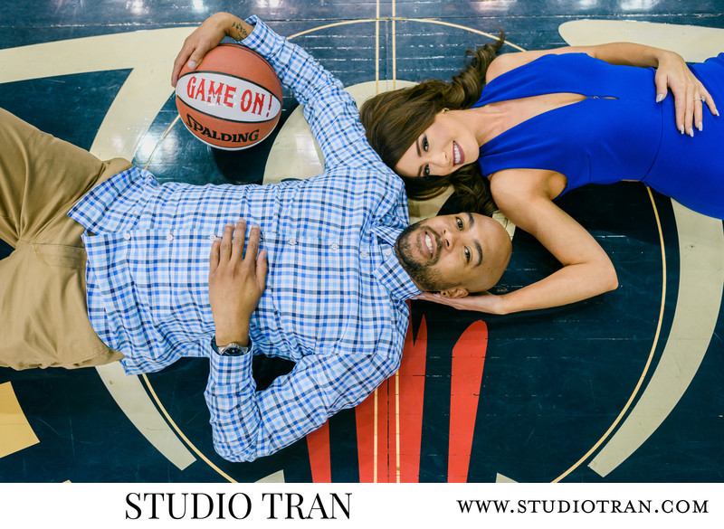 Smoothie King Center Engagement Photographs