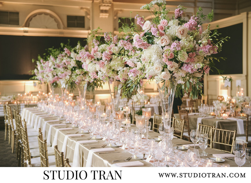 Gorgeous Board of Trade Tablescapes