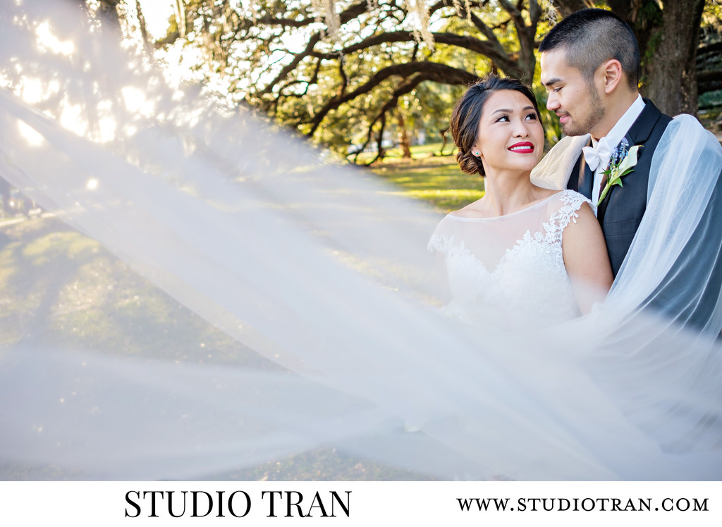 Sunset City Park Wedding Photographer
