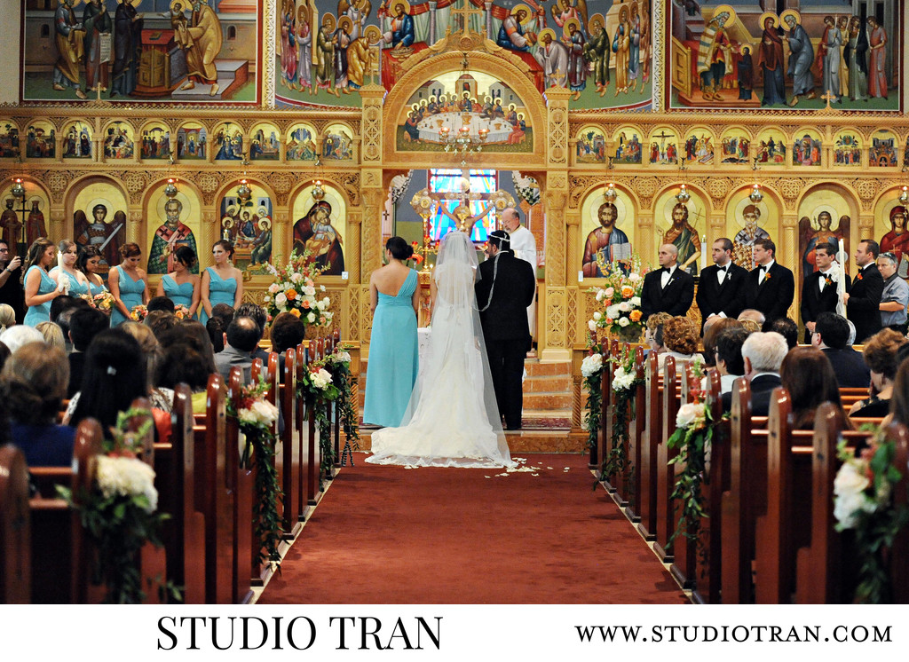 Holy Trinity Cathedral Wedding Photographer