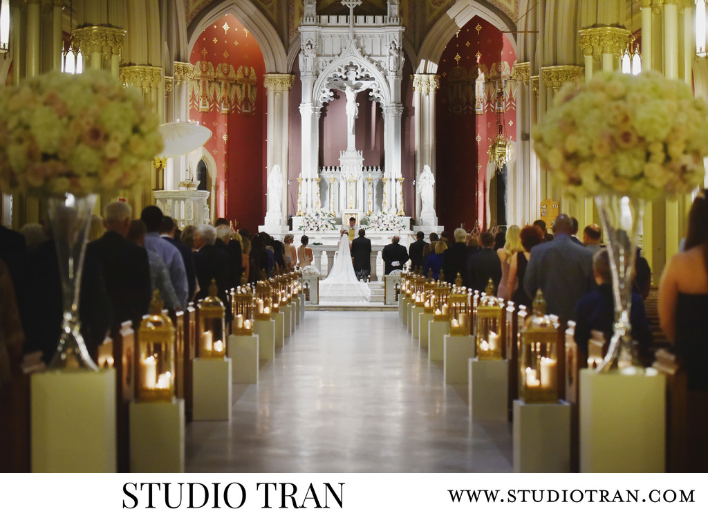 Holy Name of Jesus Wedding Photographer