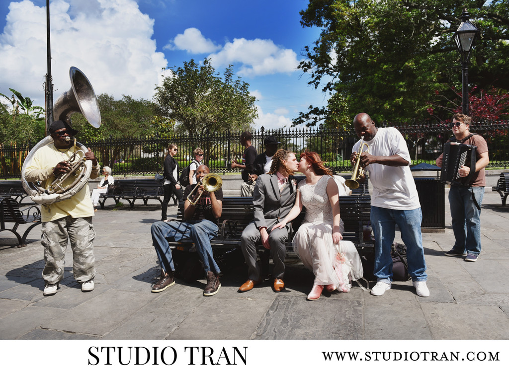 Jackson Square Wedding Photographer