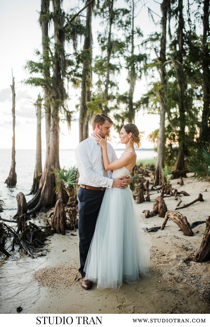 Fontainebleau State Park Wedding Photographs