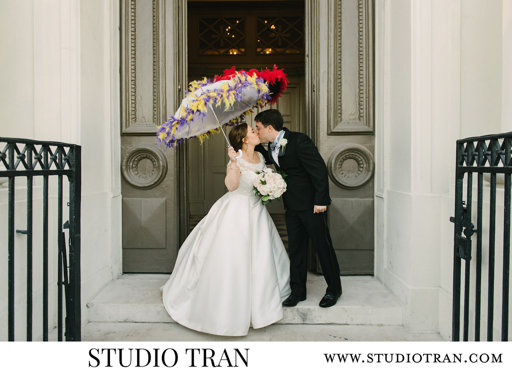 St. Louis Cathedral Second Line Wedding