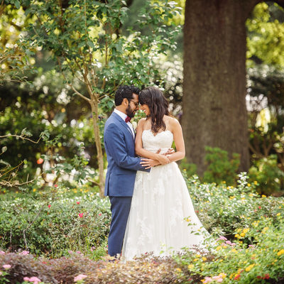 Louis Armstrong Park Wedding Photographs