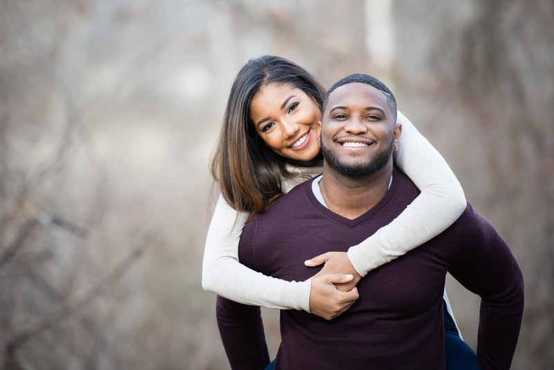 Hudson Valley Fun Engagement Photography