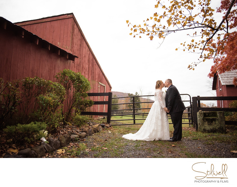 Fall Wedding Pictures Falkirk Estate NY