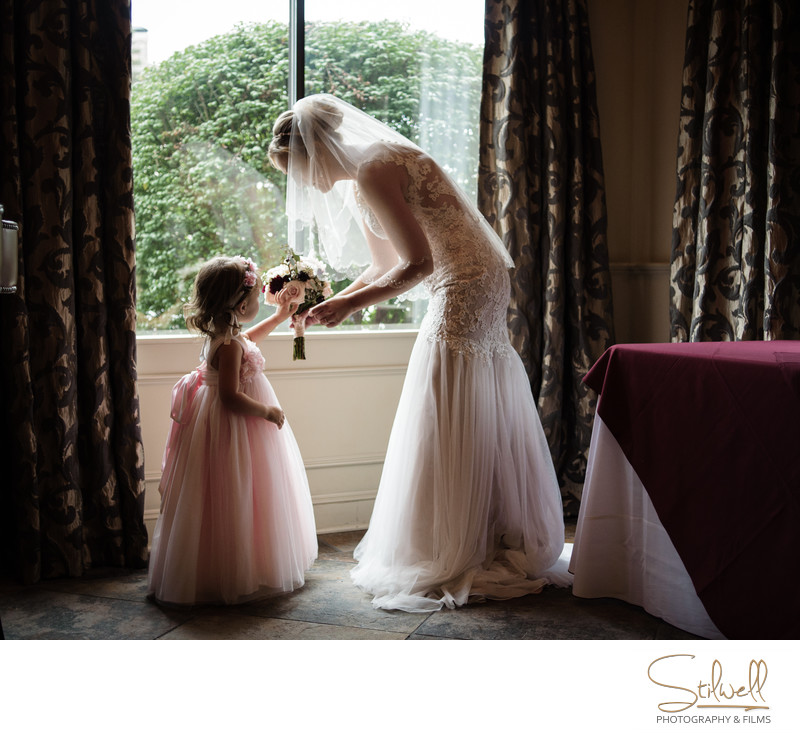 Mother Daughter Wedding Moments New Paltz NY