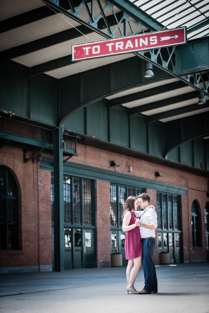 New Jersey Engagement Session Old Train Station
