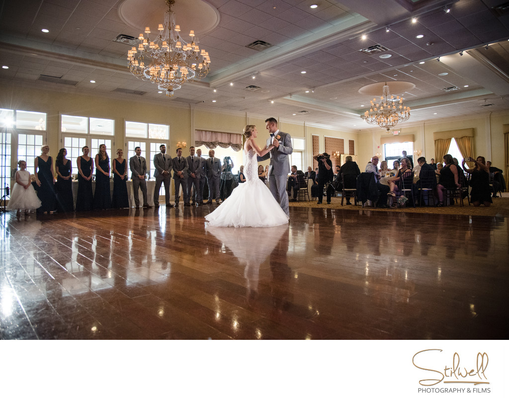 The Grandview Poughkeepsie NY First Dance