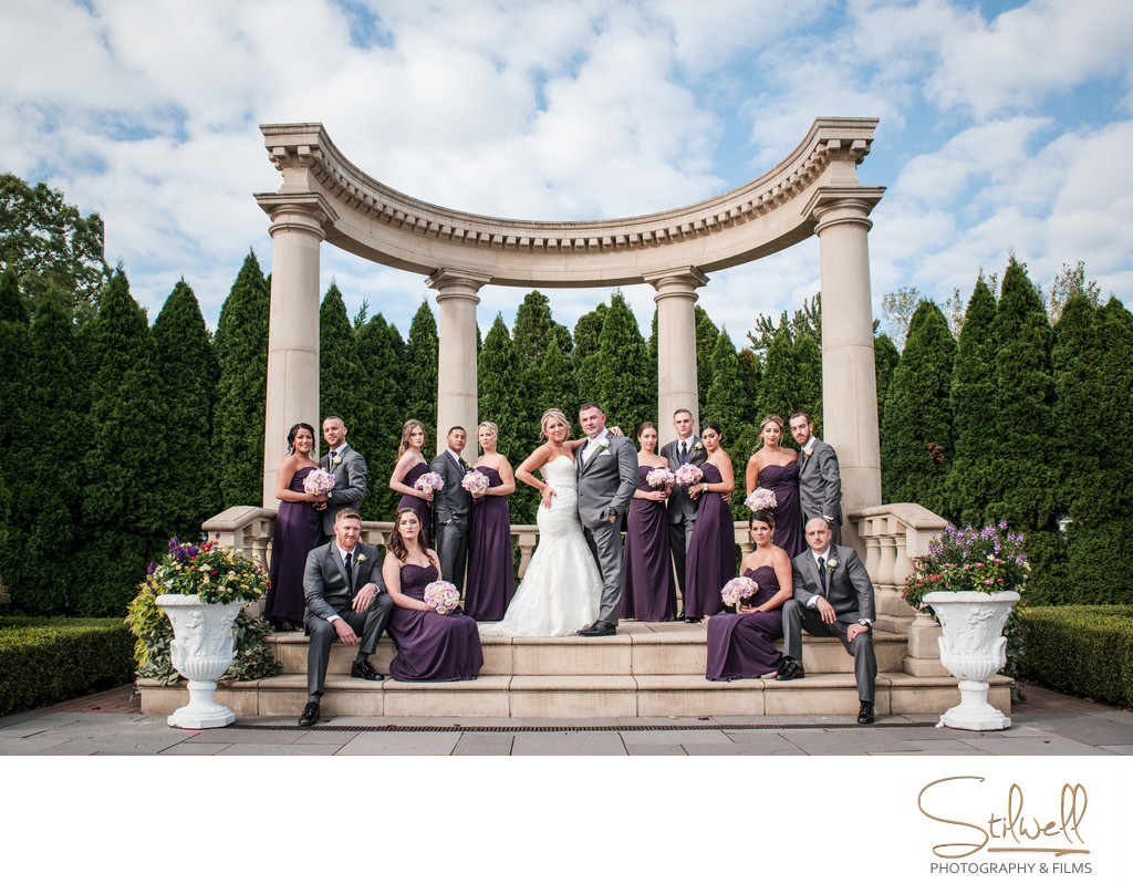 Wedding Party at The Rockleigh NJ Photographer