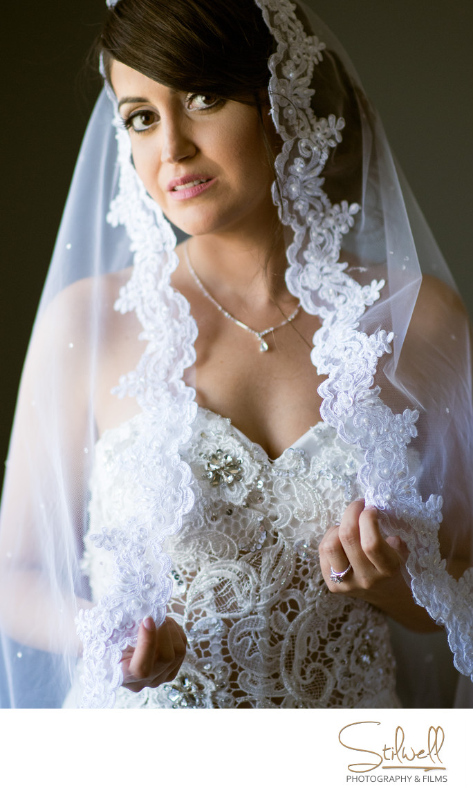 Hudson Valley Bride Portrait Photography